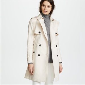 Club Monaco Matie Trench Coat in Small